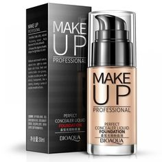 Cheap base liquid, Buy Quality liquid foundation directly from China foundation makeup Suppliers: Face Foundation Makeup Base Liquid Foundation 2017 BB Cream Concealer Whitening Moisturizer Oil-control Maquiagem 6027 Bb Cream Foundation, No Foundation Makeup, Liquid Foundation, Face Foundation, Too Faced Concealer, Cream Concealer, Bronzer, Wish Makeup, Face Contouring Makeup