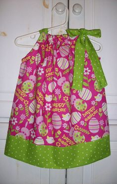 Pillowcase Dress HAPPY EASTER