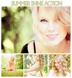 Summer Shine Photoshop Action