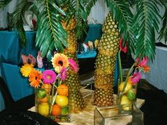Image detail for -Luau Party Supplies King Center Pictures Luau Centerpieces, Luau Party Decorations, Luau Theme Party, Hawaiian Luau Party, Tiki Party, Party Themes, Party Ideas, Hawaiian Birthday, Theme Ideas