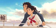 from up on poppy hill - Director Gorō Miyazaki Estudio Ghibli Hayao Miyazaki, Totoro, Studio Ghibli Art, Studio Ghibli Movies, Studio Ghibli Quotes, Up On Poppy Hill, Anime Zodiac, M Anime, Anime Art