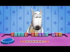 Floyd the dog is awesome as he tries to decode the Happy Birthday anagram.
