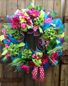 Spring/ summer wreath Deco