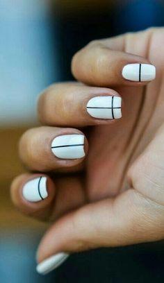lines detail nail art