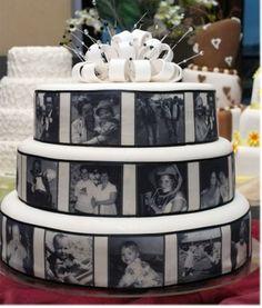 pastel de boda con impresiones de arroz - Buscar con Google