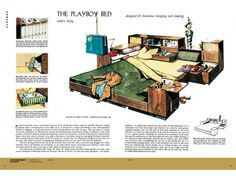 The Playboy Bed