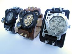 Steampunk Grioth Watches. I-RIS vs. I-RON https://www.facebook.com/grioth.steampunkcrafts