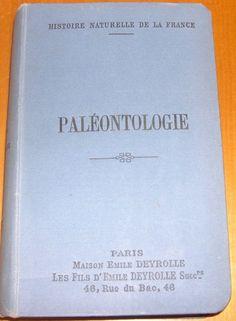 Paléontologie de Fritel P H - Achat vente neuf occasion