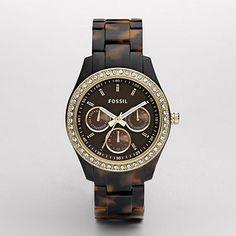 Stella tortoise watch