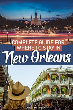 A one stop guide for Where to stay in New Orleans during your trip to NOLA Louisiana. We include an in depth guide for the best places to stay in New Orleans including hotels in New Orleans, suggestions for the best things to do in New Orleans, attractions in New Orleans, and a New Orleans itinerary from staying in New Orleans French Quarter to New Orleans Garden District, we have you covered in this New Orleans travel guide.  #neworleans #UStravel #NOLA