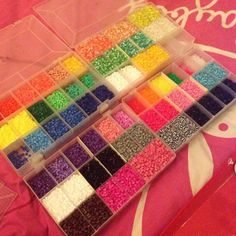 Fuse beads, one of my favorite things as a kid..probably now too