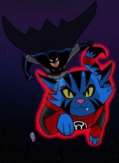Justice League Action Batman Dexxtar Color part 1 by nic011.deviantart.com on @DeviantArt