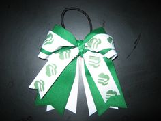 Girl Scout Logo Hair Bow by NotAnotherHairBow on Etsy, $8.00