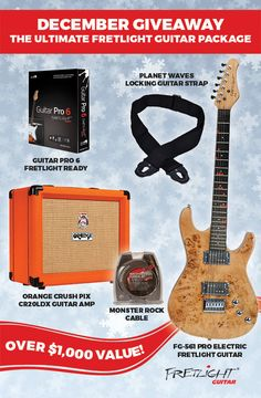 I signed up to win the Ultimate Fretlight Guitar Package - you can too! https://wn.nr/vzdWh