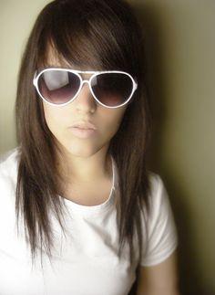 I LOVE THIS CUT!  brunette by cascadegonpory.deviantart.com