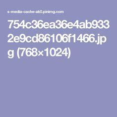 754c36ea36e4ab9332e9cd86106f1466.jpg (768×1024)