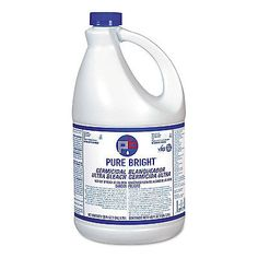 Bleaches And Stain Removers 172208 Pure Bright Liquid Bleach 1gal