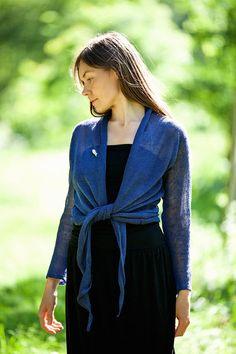 Linen jacket knot linen jacket natural linen cardigan #summerwear #casualwear #linen