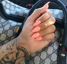 Peach ovals