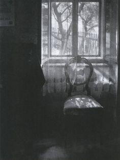 The Interior Prospect: Josef Sudek - The window filter. Chair in Janacek's house 1972
