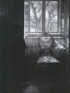 The Interior Prospect: Josef Sudek - The window filter. Chair in Janacek's house 1972
