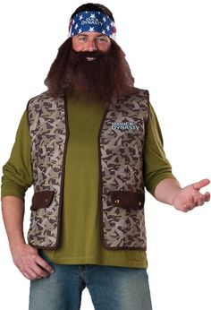 men's costume: duck dynasty willie-one size