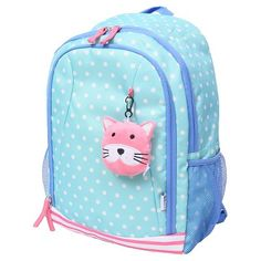 f1f7a9a3d8 Crckt 15 Kids  Backpack - Blue Dot Little Girl Backpack