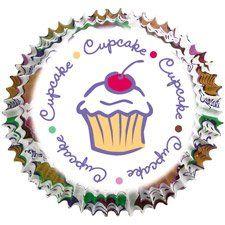Papírové pečící mini košíčky cupcake