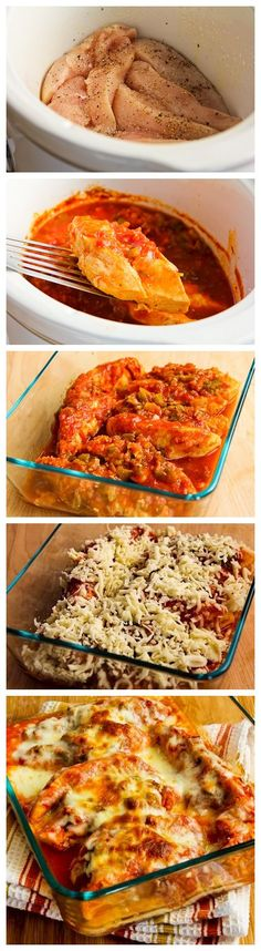 Slow Cooker Salsa Chicken Recipe with Lime and Melted Mozzarella Slow Cooker Salsa, Slow Cooker Recipes, Crockpot Recipes, Chicken Recipes, Cooking Recipes, Slow Cooking, Healthy Chicken, Easy Dinner Recipes, Great Recipes