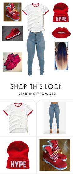 """hankers"" by aleisharodriguez ❤ liked on Polyvore featuring Hollister Co. and CO"