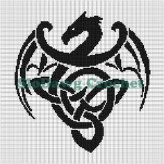 dragon graph fair isle - Google Search