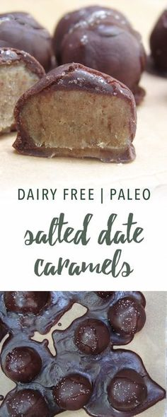 Paleo salted date caramels | Empowered Sustenance Grain Free Recipes