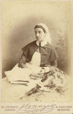 1885, August___ Nurse Helen Norman