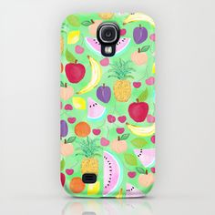 Fruit Punch Samsung Galaxy S4 case by Lisa Argyropoulos