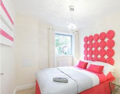 18_pink interior, kitchen, bedroom, bathroom, rozowe wnetrze, kuchnia, lazienka, pink and white interior design, bialo rozowe mieszkanie, think pink