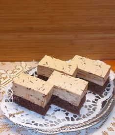 Coffee Mousse Cake Recipe, Hungarian Desserts, Eat Pray Love, Cake Bars, Beef Steak, Confectionery, Keto Dinner, Crockpot Recipes, Healthy Snacks