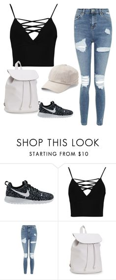 """Ripped"" by raneilyayoung on Polyvore featuring NIKE, Boohoo, Topshop, Aéropostale and adidas"