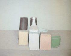 Morandi 1890-1964  Visai kiti dalykai. Spalviskai ir paprastai ir dvasingai.