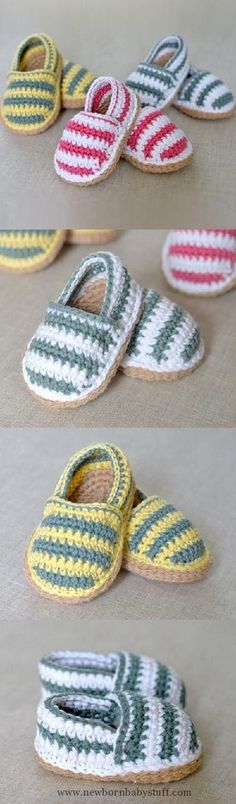 Crochet Baby Booties Baby Crochet The Best Collection Of Free Patterns | The WHOo...