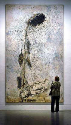 the plum tree - slowpilgrim:Anselm Kiefer - Sol invictus Anselm Kiefer, Contemporary Artists, Modern Art, Musée Rodin, Inspiration Artistique, Oeuvre D'art, Painting & Drawing, Amazing Art, Rembrandt