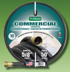 Flexon PH5850 5/8-Inch x 50-Foot Heavy Duty Premium Rubber Hot Water Hose