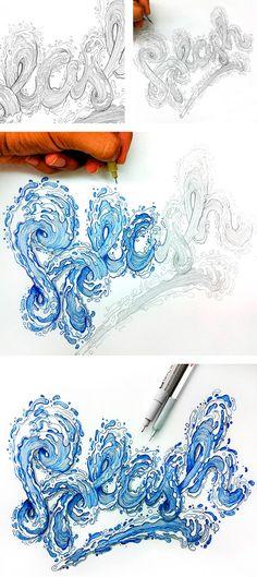 O lettering incrivelmente ilustrado de El Juantastico - O designer e ilustrador El Juantastico junta lettering e ilustração para criar belas obras. Inspire-se com seu incrível trabalho.