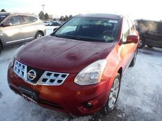 ONE OWNER!!!   CLEAN TITLE!!!   LOW MILES!!!     2012 NISSAN ROGUE SL AWD, red with black LEATHER, SUNROOF, wheels, NAVIGATION SYSTEM with rear BACK UP CAMERA, bluetooth connection, cd player with PREMIUM SOUND SYSTEM and steering wheel audio controls, heated seats, rear parking aid, ABS brakes, a/c with dual climate control, cargo cover, fog lights, keyless entry with keyless start, rear spoiler, tinted windows, traction control, and lots more!     Clean title! Remainder of Factory…