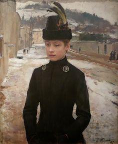 émile friant œuvres | Art et glam: Peintre : Émile Friant