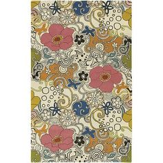 Surya Goa Floral and Paisley Rug -so perfect for Claire's room!