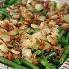 """Smothered Green Beans 
