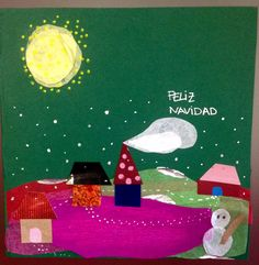 #christmascards #handmade #postales #tarjetas #navidad #NIEVA