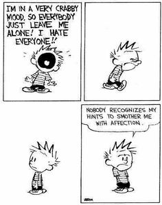 Oh, Calvin.