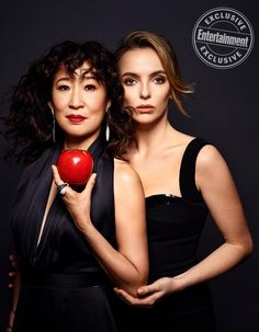 See EW's dazzling, dangerous portraits of Killing Eve stars Sandra Oh and Jodie Comer