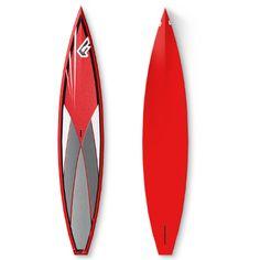 """Fly Race Carbon 12´6 (27""""75) 2012: Vom morgendlichen Frühsport bis zum Marathon – ein Allround-Raceboard, einsetzbar auf dem See und auf dem offenen Ozean. Und es kann für kleine Wellen zwischendurch genutzt werden. Die lange Wasserlinie bietet mehr Schwung mit weniger Anstrengung. Durch die CAD-Linie ist, mit dem gleichmäßigen Tail Rocker, ein sanftes Surfen möglich. Für ein Maximum an Geschwindigkeit sorgt die gewölbte Nose, mit einer leichten Rundung im Unterwasserschiff und das flache…"""